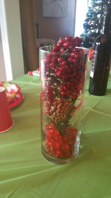 Christmas Centerpiece Diane S Pinz Pinterest Centerpieces And