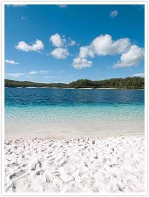 Lake Mckenzie, Fraser Island, Australia - there are no words to describe this place