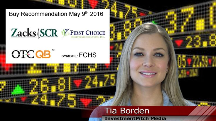 Zacks Small-Cap Research initiated coverage on First Choice Healthcare S...