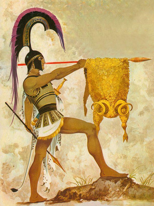 Phil Rushton - Jason and the Golden Fleece. Tags: golden fleece, jason, argonauts,