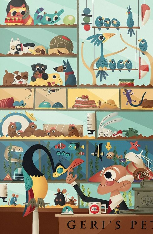 I posted an interview with the illustrator Andrew Kolb over on The Tools Artists Use:  thetoolsartistsus...