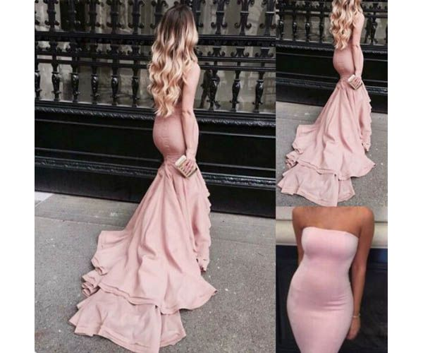 Pink Prom Dresses,Pink Evening Gowns,Simple Formal Dresses,Prom Dresses,Teens