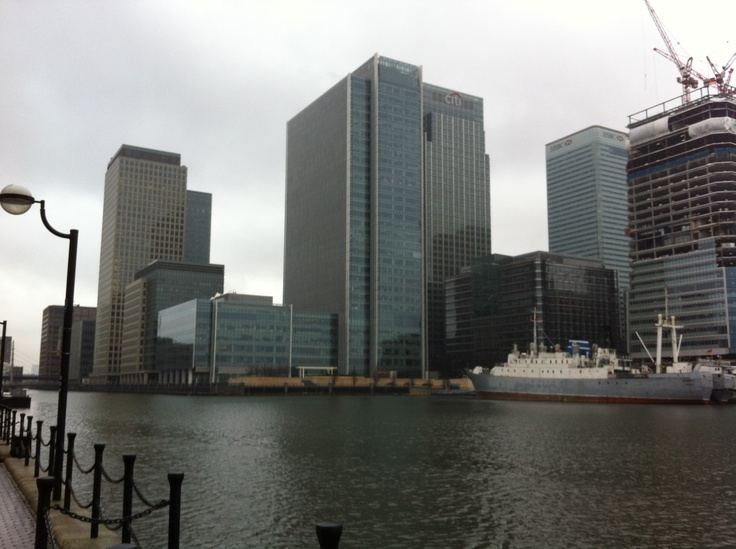 Canary Wharf, London 2013