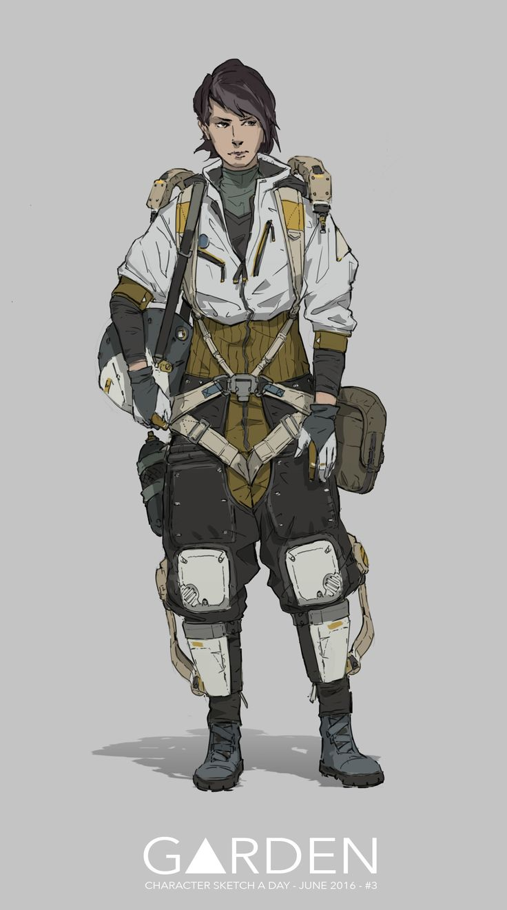 ArtStation - Character Sketch a Day - June 2016, Tom Garden