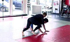 """""""Self defense: Ronda Rousey training for UFC 184 [x] """""""