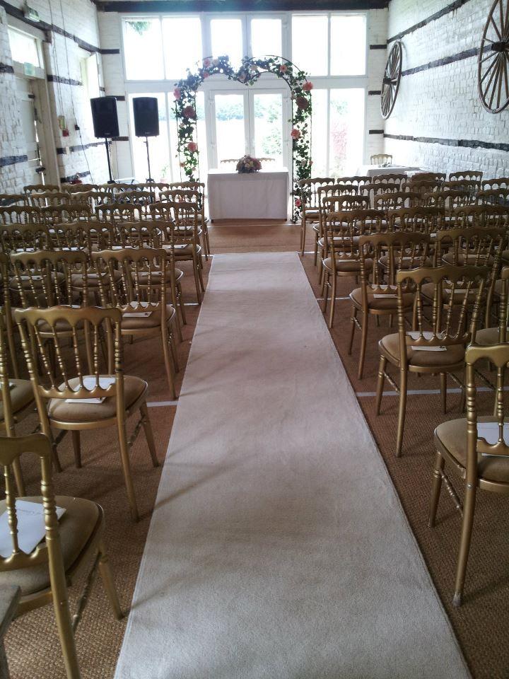 Lillibrooke Manor wedding, possible indoor ceremony