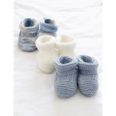 Baby's Booties - Patterns   Yarnspirations
