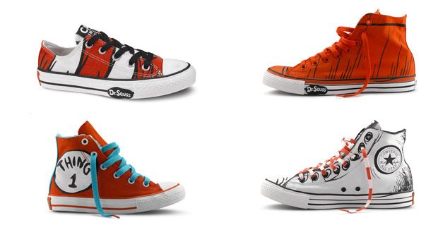 converse the Cat in the Hat Dr. Seuss niños kids miraquechulo