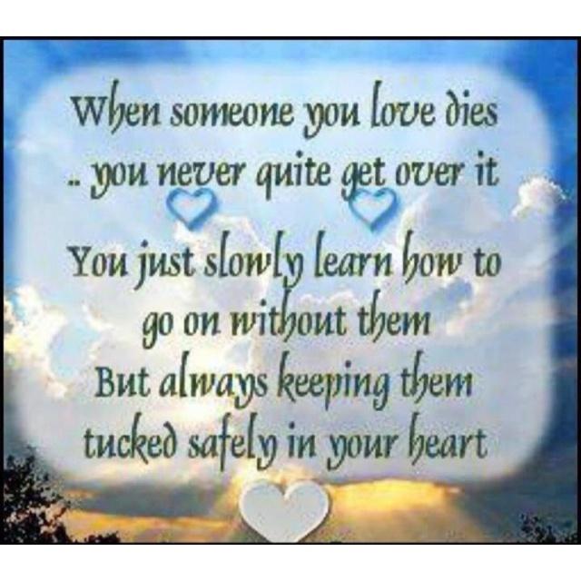 To My Loved Ones In Heaven. Miss U Everyday.