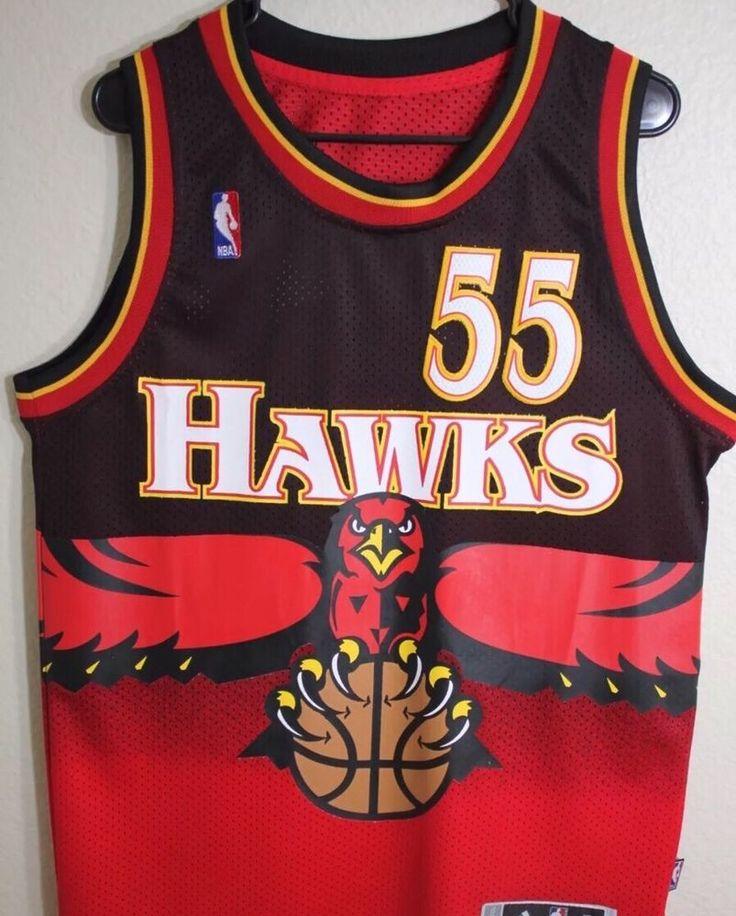 Dikembe Mutombo Throwback Atlanta Hawks Jersey - Adidas - Size 2xl from $49.99