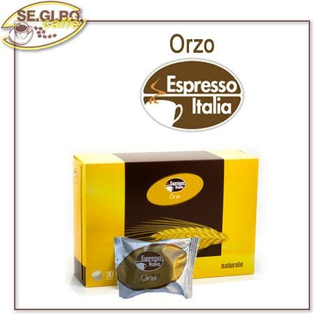 La Naturalità di un Cereale Ricco di Proprietà Nutritive e Corroboranti, Con il Sapore del Caffè Confezione  Monodose