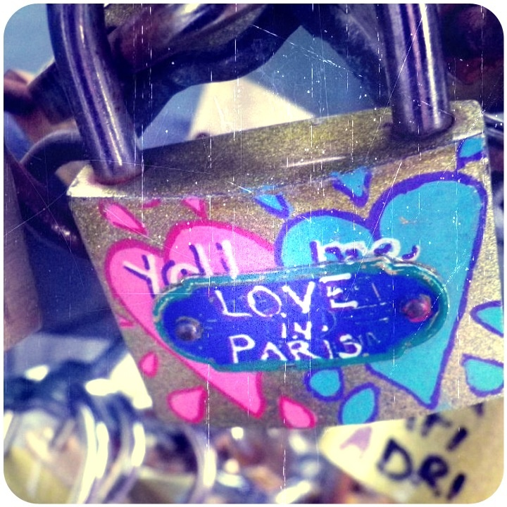 Love Locks of Paris