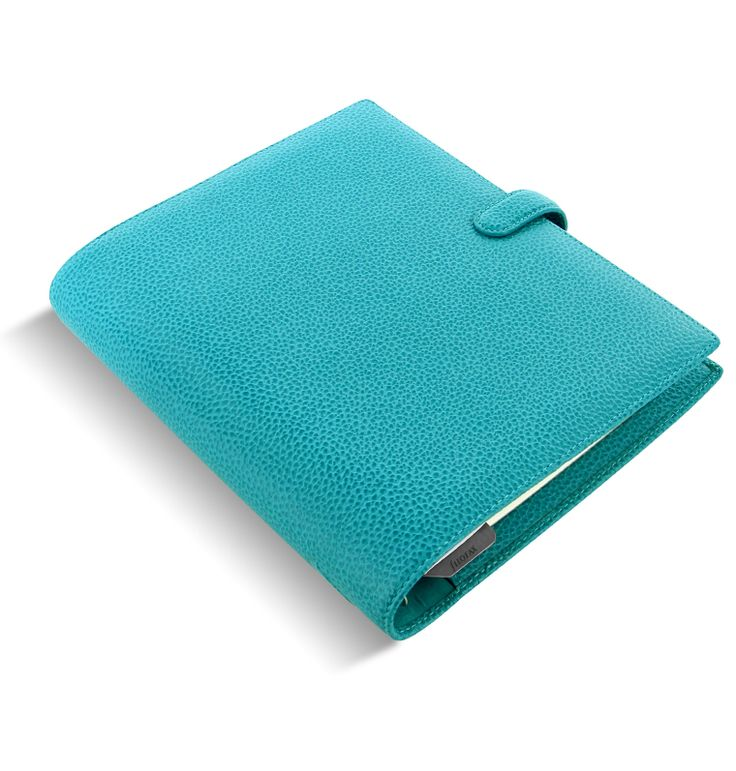 Filofax Finsbury in gorgeous aqua