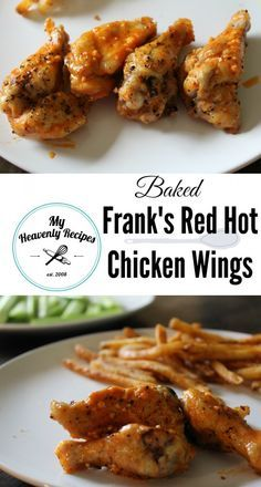 Frank's Red Hot Baked Chicken Wings - There's no need to deep fry wings, when you can have BAKED Chicken Wings that taste all the same!