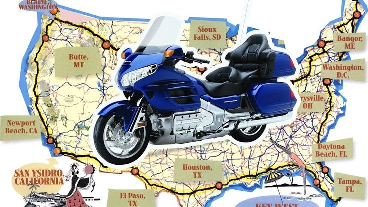 Cycle Worlds Four Corners Tour Aboard The 2001 Honda GL1800 Gold WingFrom The Archives