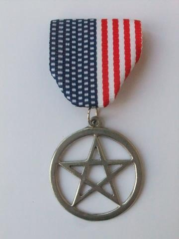 Celebrate Veteran Pentacle Day today! Five years ago this morning, the US Department of Veterans Affairs finally added the Pentacle to its list of emblems of belief authorized to be included on the grave markers it issues to honor deceased US military veterans.