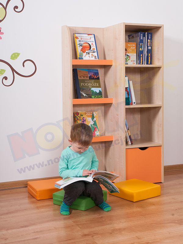 Biblioteczka prosta #novumedukacja #novum #kids #kidsfurniture