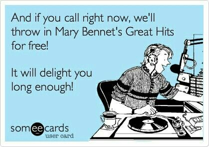 Mary Bennet's Greatest Hits (Pride and Prejudice)