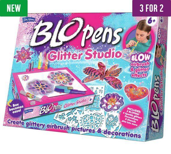Buy BLO Pens Glitter Studio Set at Argos.co.uk, visit Argos.co.uk to shop online for 3 for 2, Toys