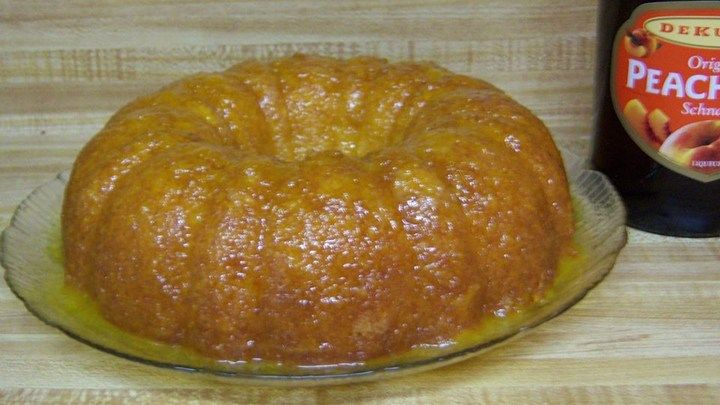 Peach schnapps and orange juice make this cake-mix-cake as fruity and delicious as the popular cocktail.