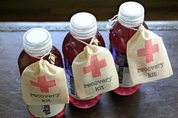 1000 Ideas About Hangover Kit Wedding On Pinterest