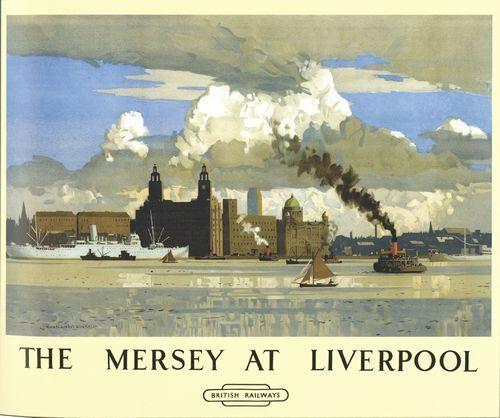 The Mersey at Liverpool, British Railways