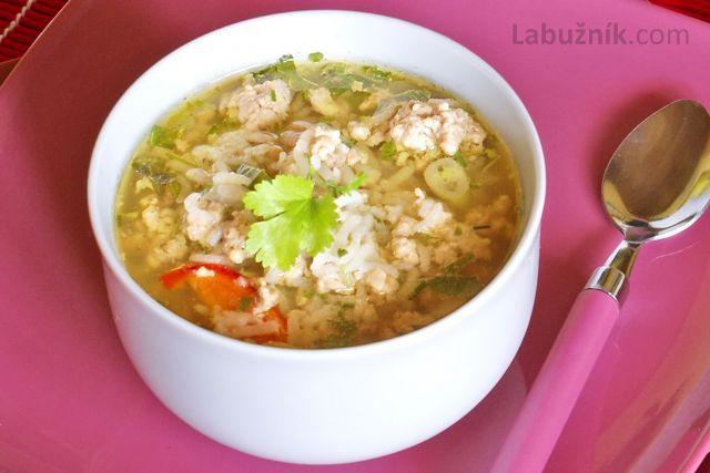 Rýžová polévka Kao dom