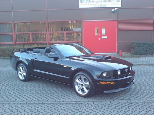 Convertible 2007 Mustang California GT