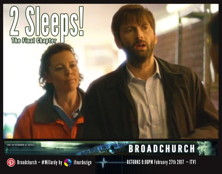 #Broadchurch 3 - The Final Chapter - 2 Sleeps until UK air date #Countdown