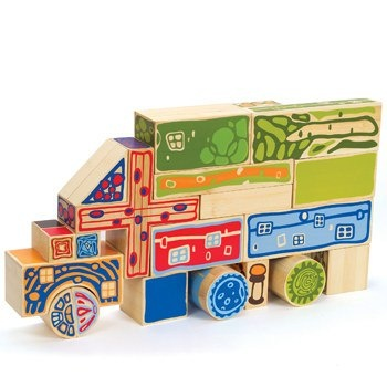 Organeco Blocks from the toy company Hape