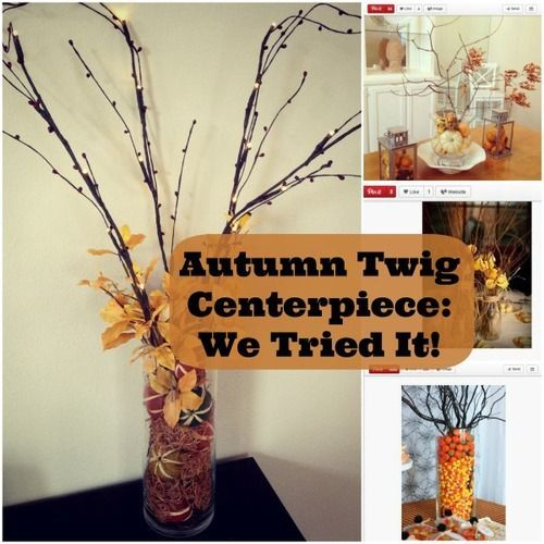 Gorgeous Autumn Twig Centerpieces Everyone Can Make