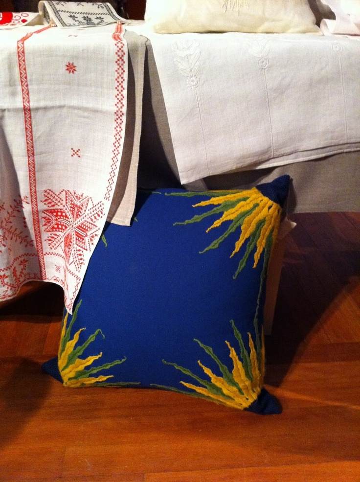 Karin Larsson Sunflower Pillow