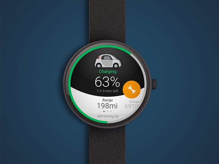 Self-driving Cars for Moto360 by Oliver Yang