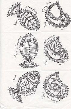 Resultado de imagen de bobbin lace patterns free