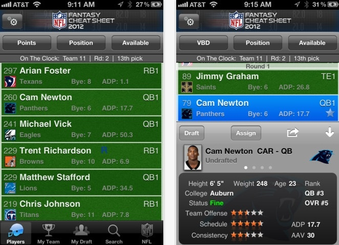 7 Fantasy Football Apps to Up Your Game