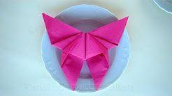 origami farfalle - YouTube