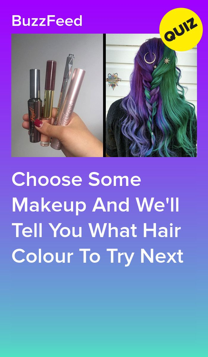 Pick Some Makeup And We Ll Tell You What Hair Colour Trend To Try In 2020 Hair Quizzes Hair Quiz Personality Quizzes Buzzfeed