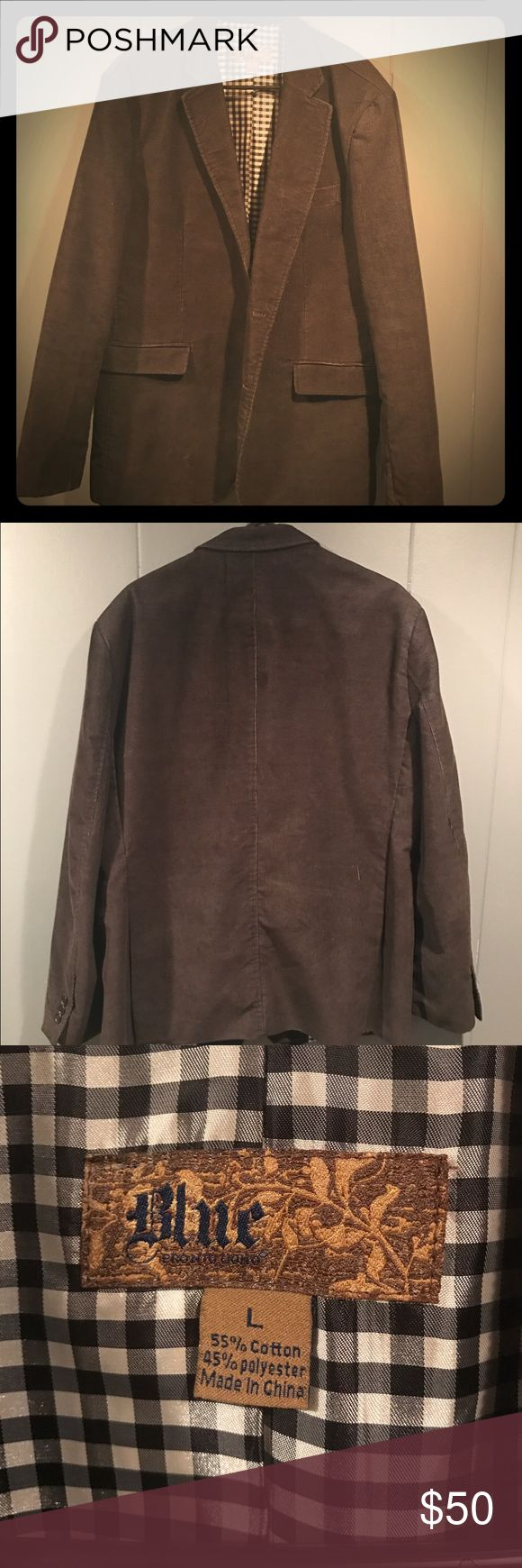 Men's sport jacket Corduroy men's sport jacket size large Jackets & Coats Lightweight & Shirt Jackets