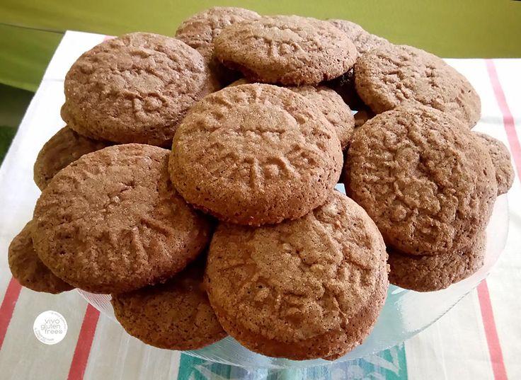 Mπισκότα με ταχίνι και κακάο, χωρίς γλουτένη – vivo gluten free