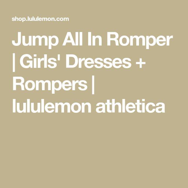 Jump All In Romper | Girls' Dresses + Rompers | lululemon athletica