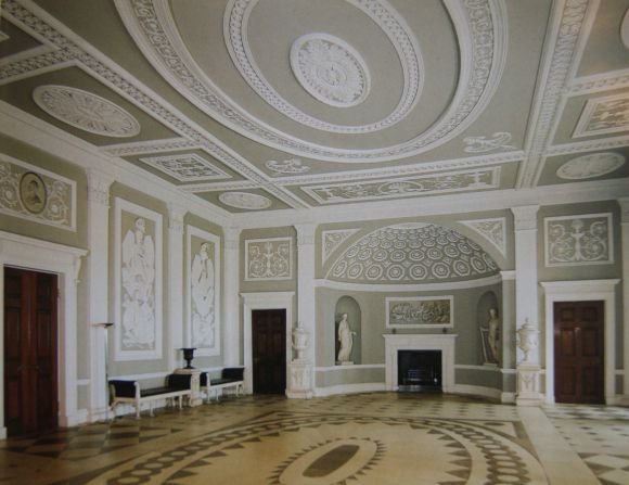 Robert Adam Designed Syon House In The Neo Classical Style Through To Century Colours And Designs Of Wedgeworth China Echo Decoration Walls