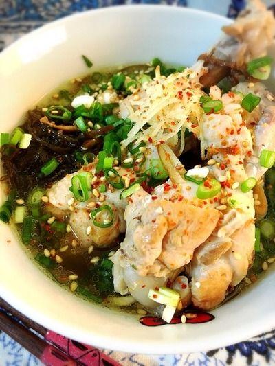 もずく入り麻油鶏。 by Misuzuさん   レシピブログ - 料理ブログの ...