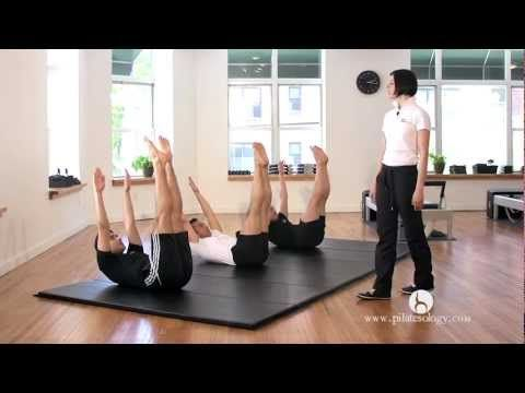 Pilates Mat Básico en Español WORKOUT - YouTube