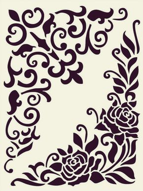 Printable Stencil Patterns For Many Uses (14)