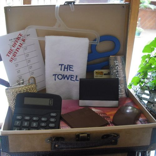 The Office Gift Set-office Themed Gift Basket New Job Gift