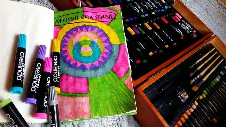 Podesłała Natalia Szpakowska #zniszcztendziennikwszedzie #zniszcztendziennik #kerismith #wreckthisjournal #book #ksiazka #KreatywnaDestrukcja #DIY