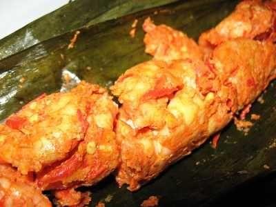 Pepes Udang - Video cara membuat resep pepes udang tahu rebon kemangi jamur kelapa mangga muda asli aceh indramayu surabaya jawa timur yang paling enak ada disini.