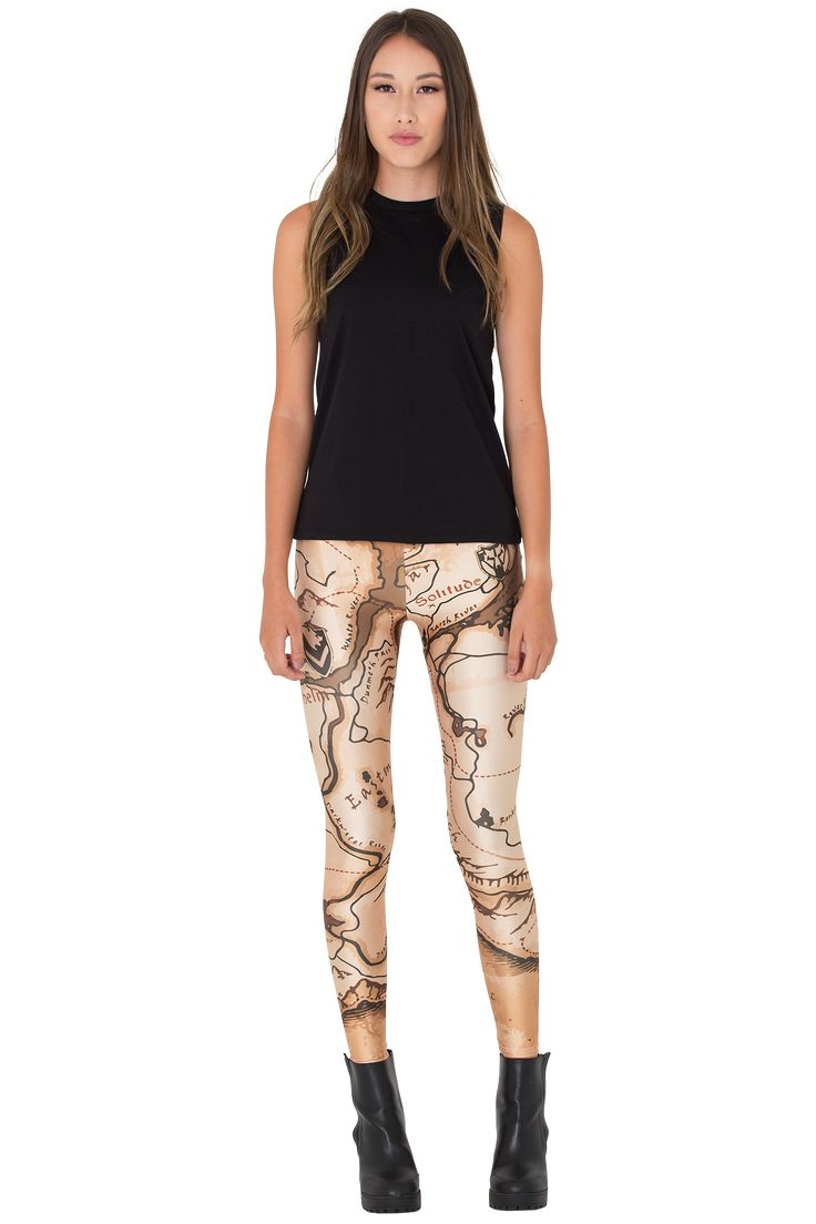 Adventurer Map Leggings