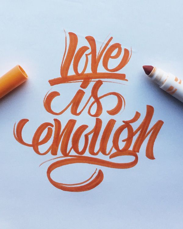 Lettering by Colin TierneyMedium used: Crayola Broad Line Markers, Classic Colors