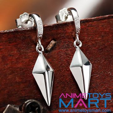 Fairy Tail earrings---- They're erza's!!!